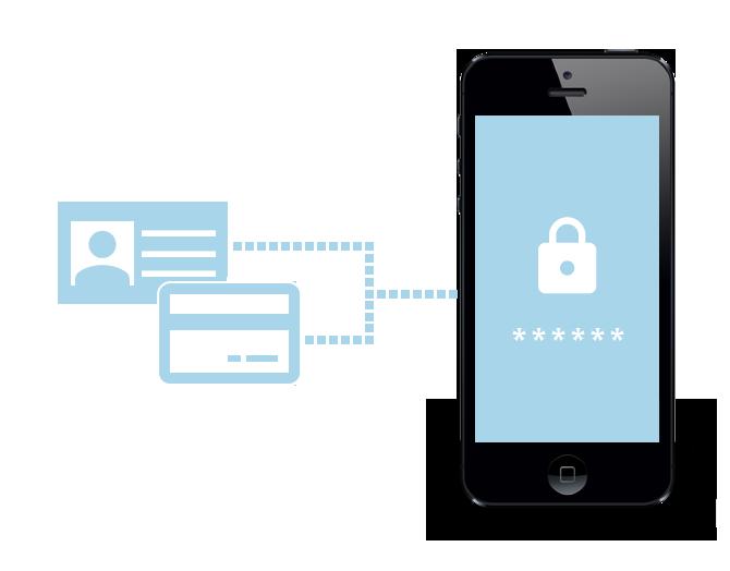 secure gateway on phone