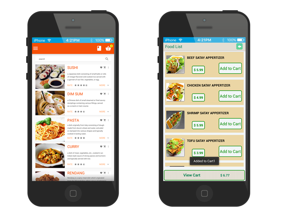 Online and Mobile Ordering Solution
