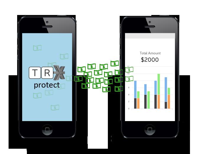 TRXvault data to accounting