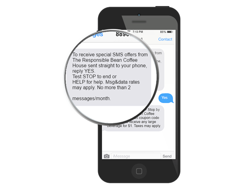 Mobile Marketing Solutions text message