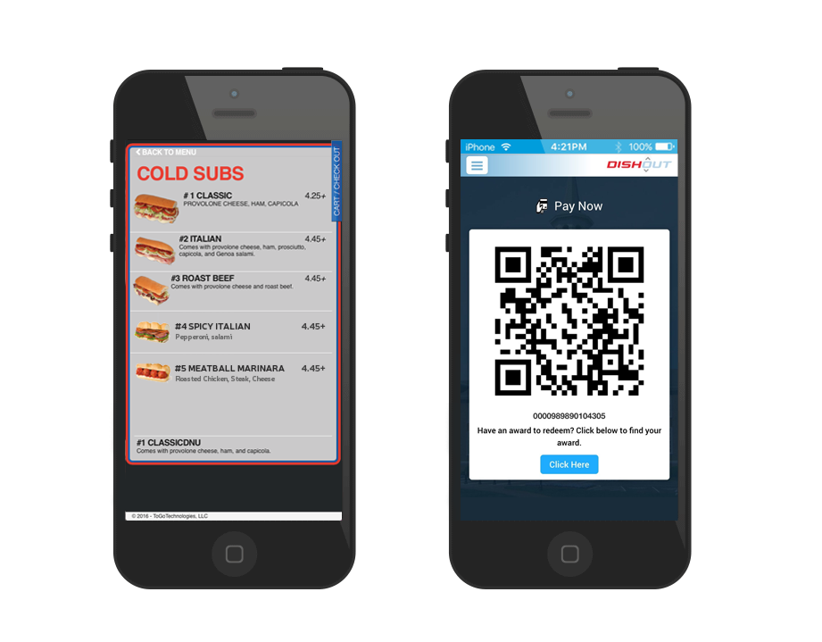 Mobile Solutions for Consumers Ordering and payment application
